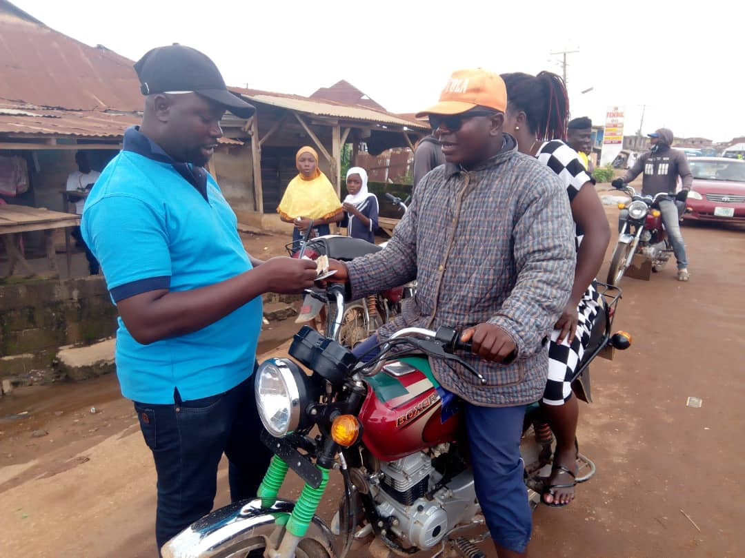 Harmonized Daily tickets for Motorcycle and Tricycle operators